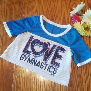 Justice gymnastics top